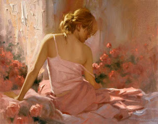 Blossoms in light, Richard S. Johnson