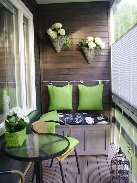 Decorar terraza con tejidos