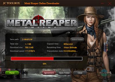 Metal Reaper Online - Downloader