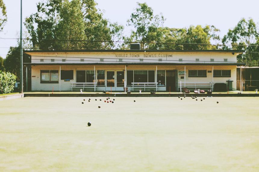 violet town bowls club