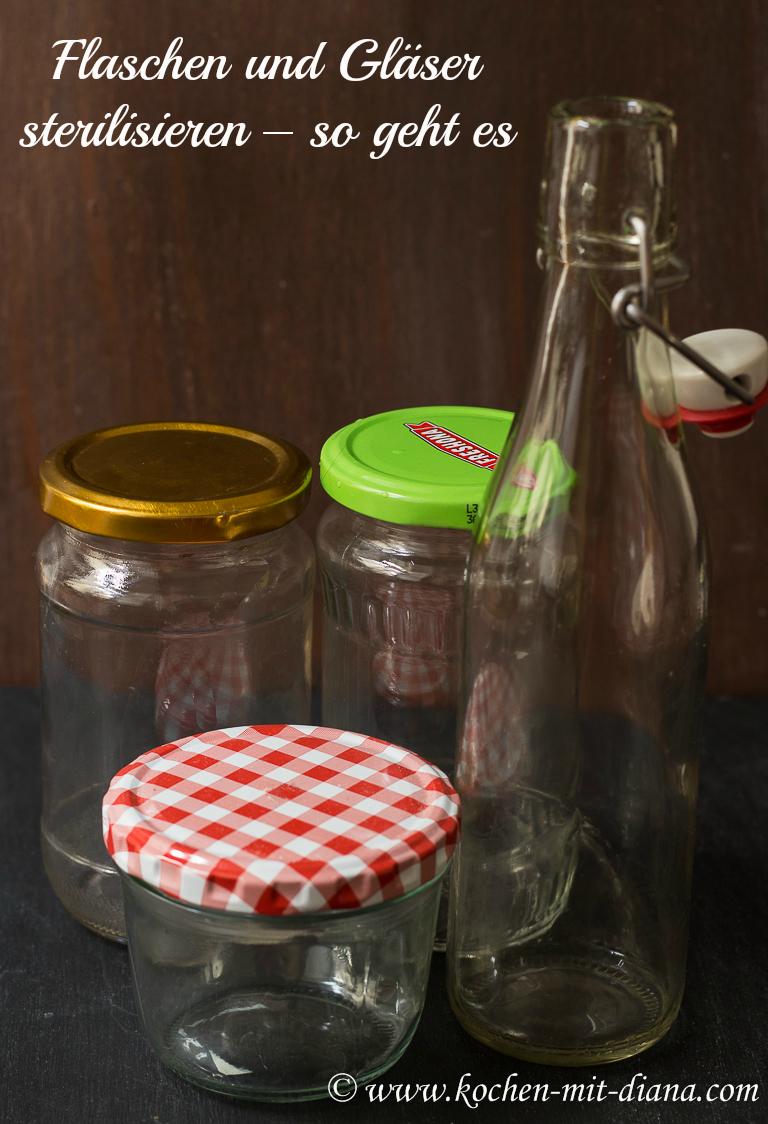 flaschen und gl ser sterilisieren so geht es kochen mit diana. Black Bedroom Furniture Sets. Home Design Ideas