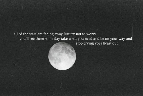 Oasis - Stop crying your heart out lyrics - YouTube