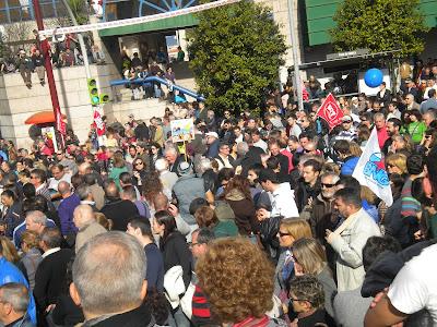 Praza de América, Vigo, 14-N
