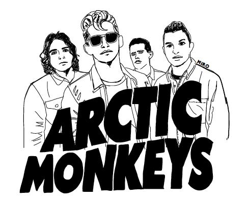 Q Arctic Monkeys Interview POP Art: MIRO by Miria...