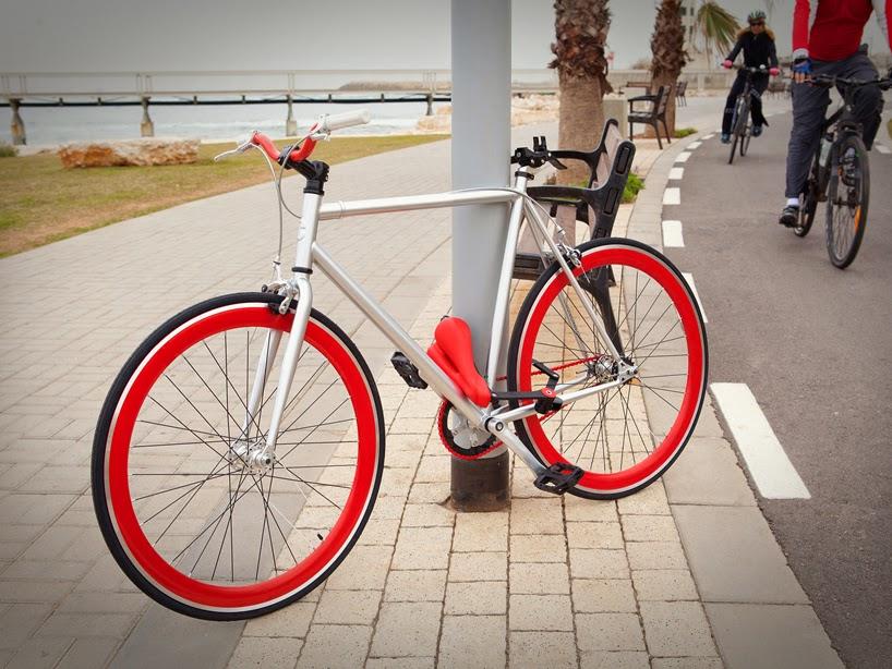 Asiento Anti-robo para Bicicletas, Soluciones Inteligentes para Seguridad de Vehiculos Ecologicos