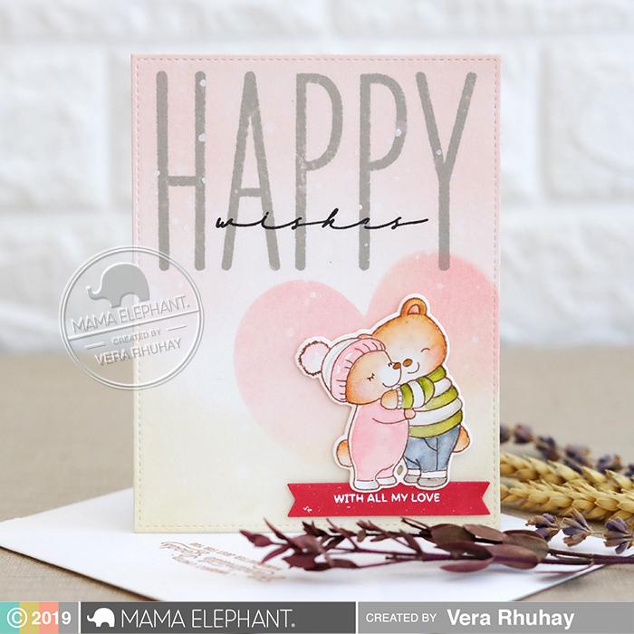 Mama Elephant HAPPY CHIC WISHES에 대한 이미지 검색결과