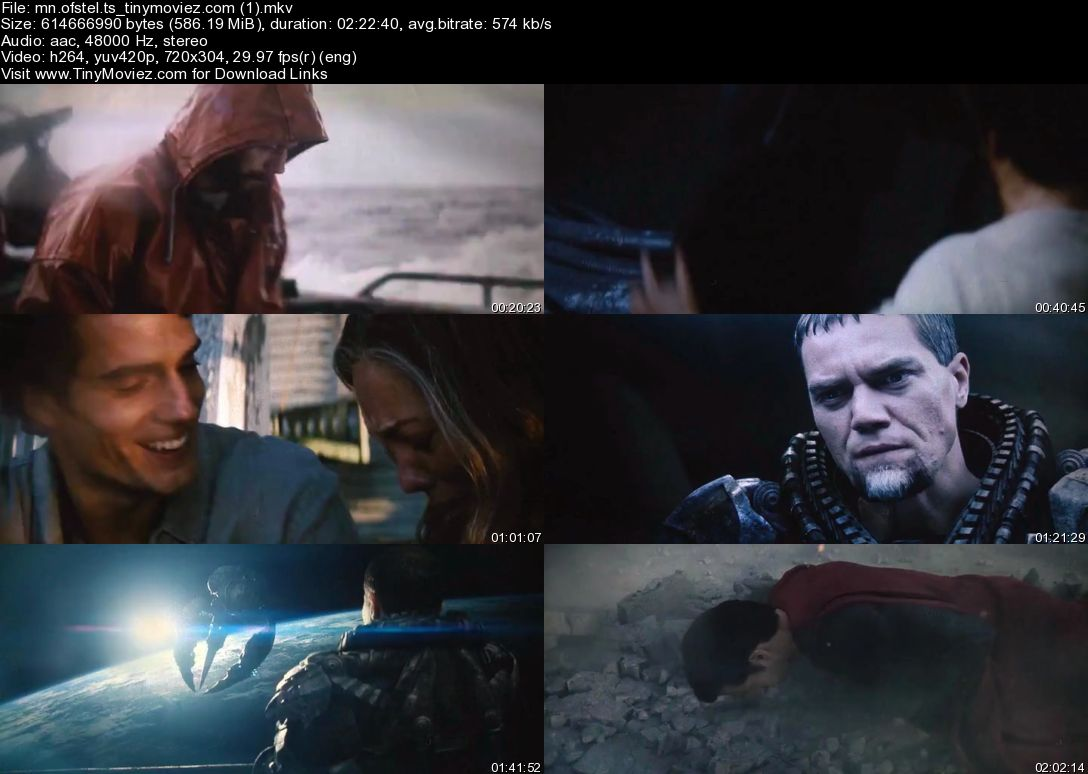Man of Steel (2013) TS 600MB