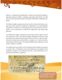 Apoyo Primaria Formación Cívica y Ética 4to grado Bloque I lección 1 Platiquemos