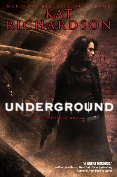 Kat Richardson Underground Greywalker #3
