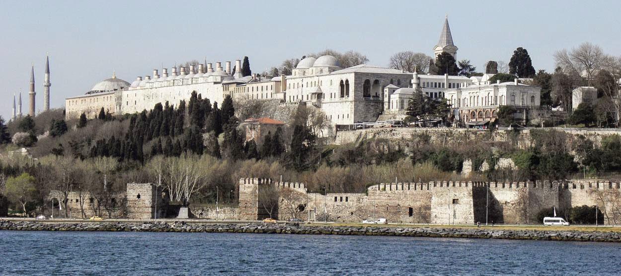 Topkapi-paladset i Istanbul, Tyrkiet
