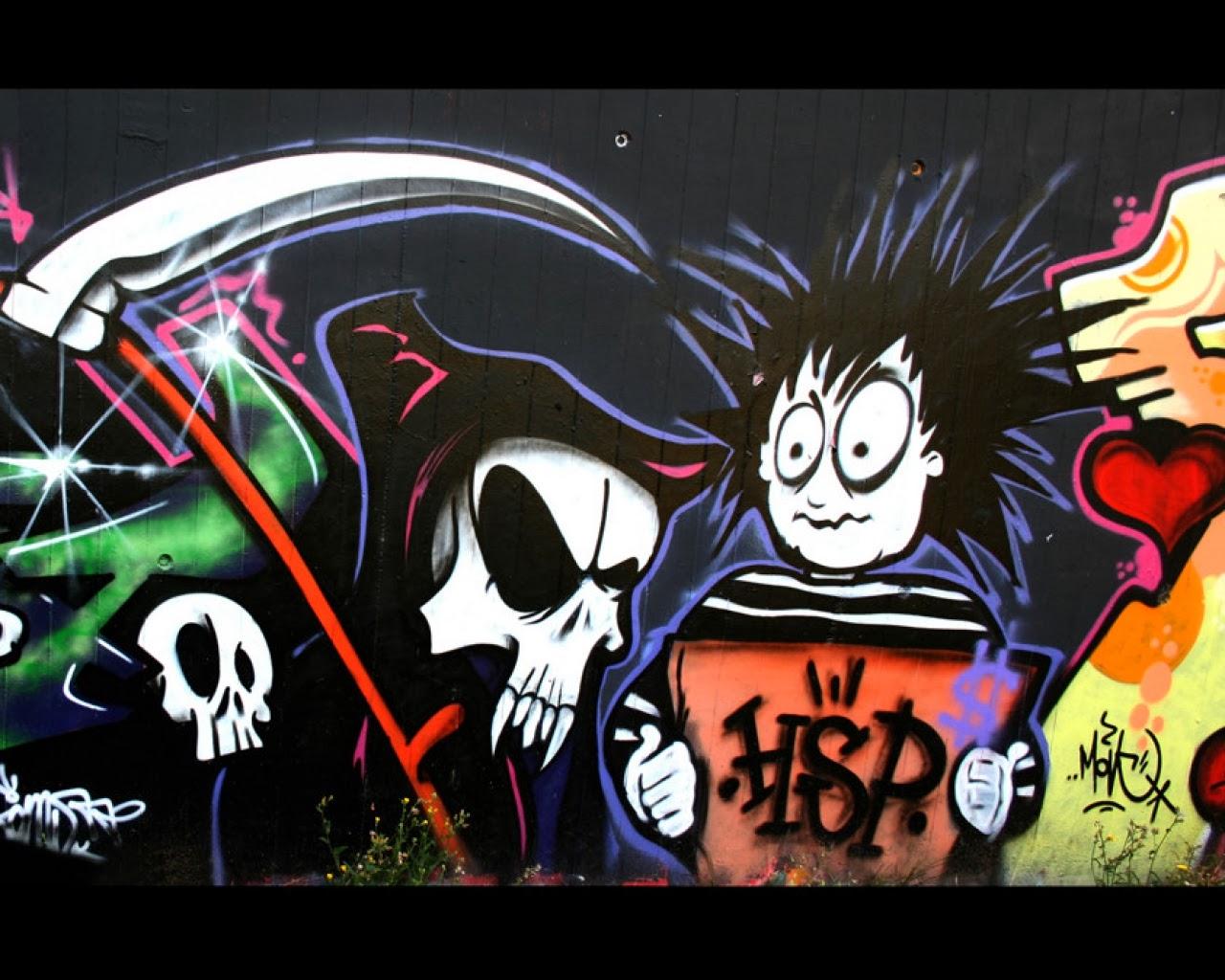 Spray Paint Graffitti Backgrounds
