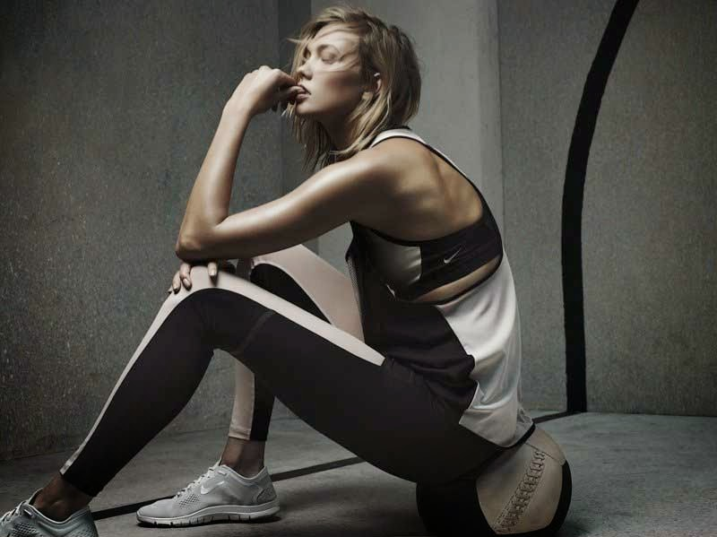 Karlie Kloss poses for the Nike x Pedro Lourenco Fall/Winter 2014