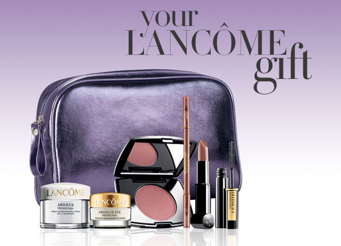 Lancome Gift with Purchase at Nordstrom!
