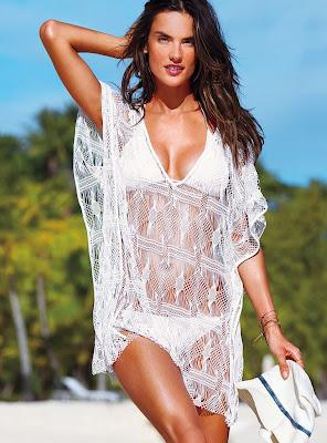 alessandra ambrosio in victoria's secret sexy bikini