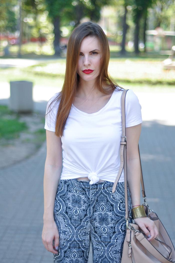 aleksandra skorupan, velvet and milk blog, street style, boho chic, seventies, zara