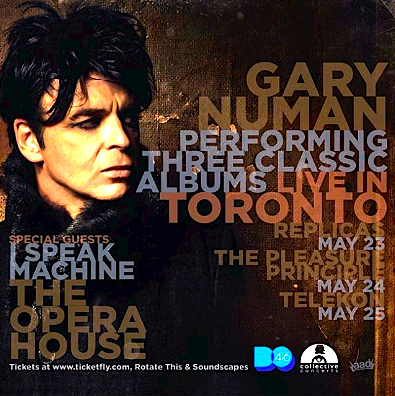 Gary Numan @ The Opera House, Tuesday