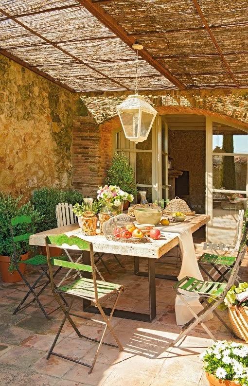 comedores r sticos al aire libre rustic dining outdoors