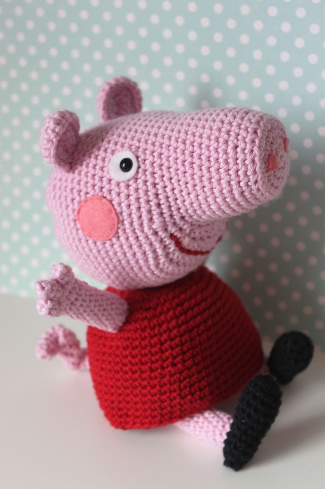 Patron Amigurumi Peppa Pig Grande : lua: Peppa Pig