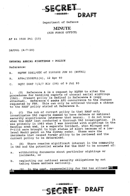 Directorate of Air Force Policy AFPOL3 - Air Force Intelligence - Fax 8-26-1993