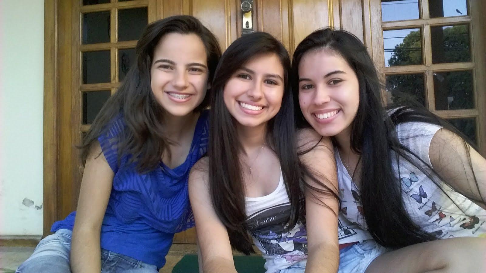 Amanda, Danielle e Larissa
