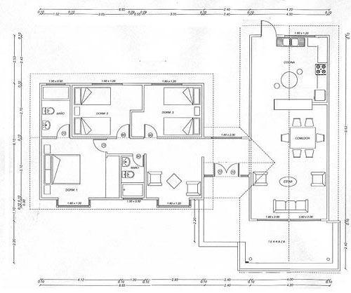 Planos de casas modelos y dise os de casas descargar - Programa para planos de viviendas ...