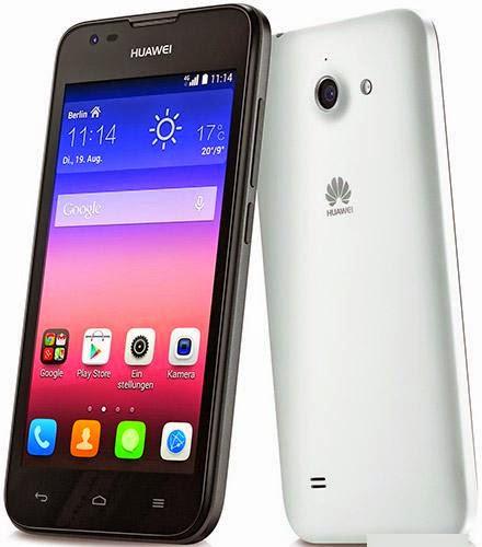 Harga Huawei Ascend Y550 dan Spesifikasi Lengkap