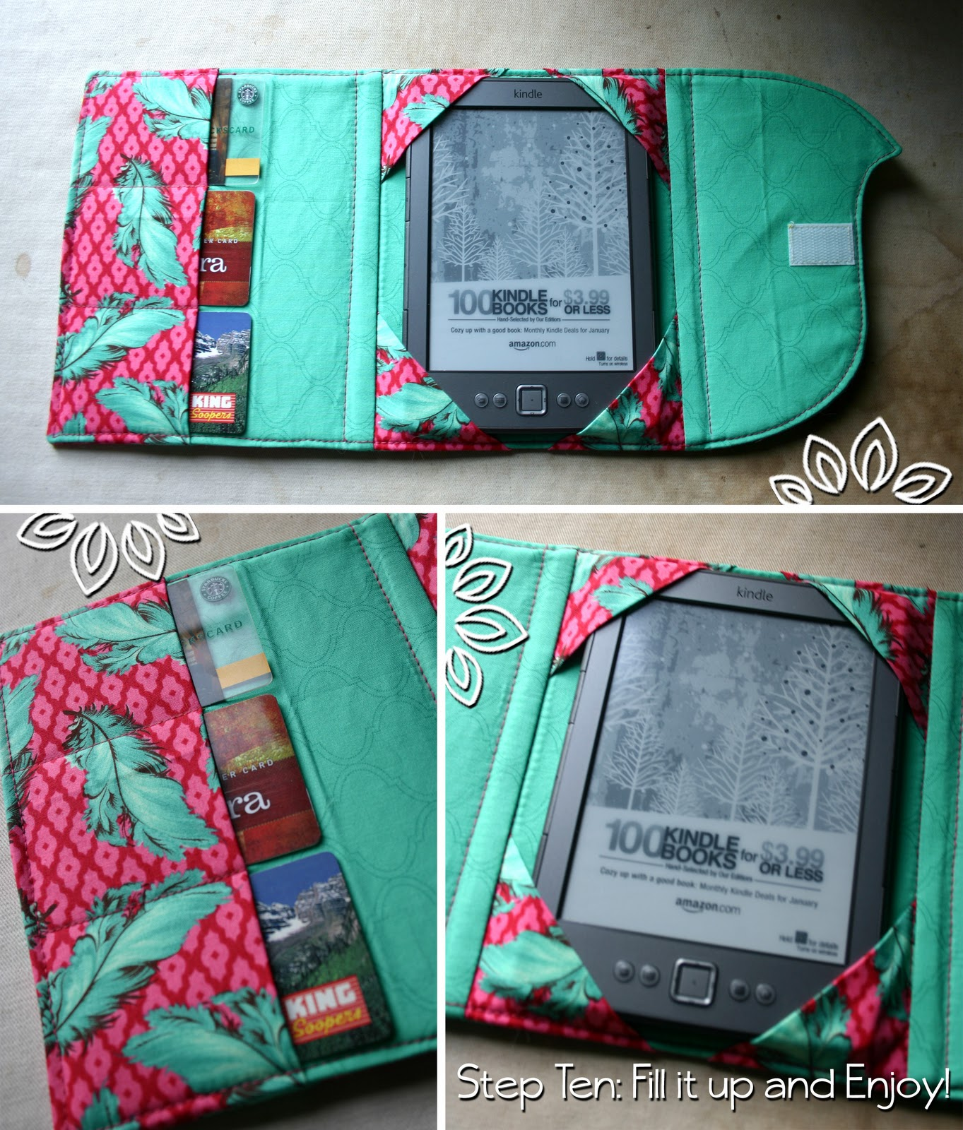 Whistlepig Creek: we do whimsical!: eReader Cubby Tutorial