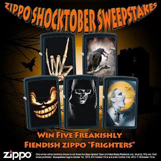 Zippo Shocktober Sweepstakes