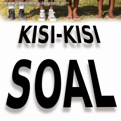 Kisi-kisi Soal Bahasa Sunda UAS SMP
