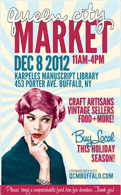 Queen City Market: 12/8/12 11-4 Karpeles Manuscript Library