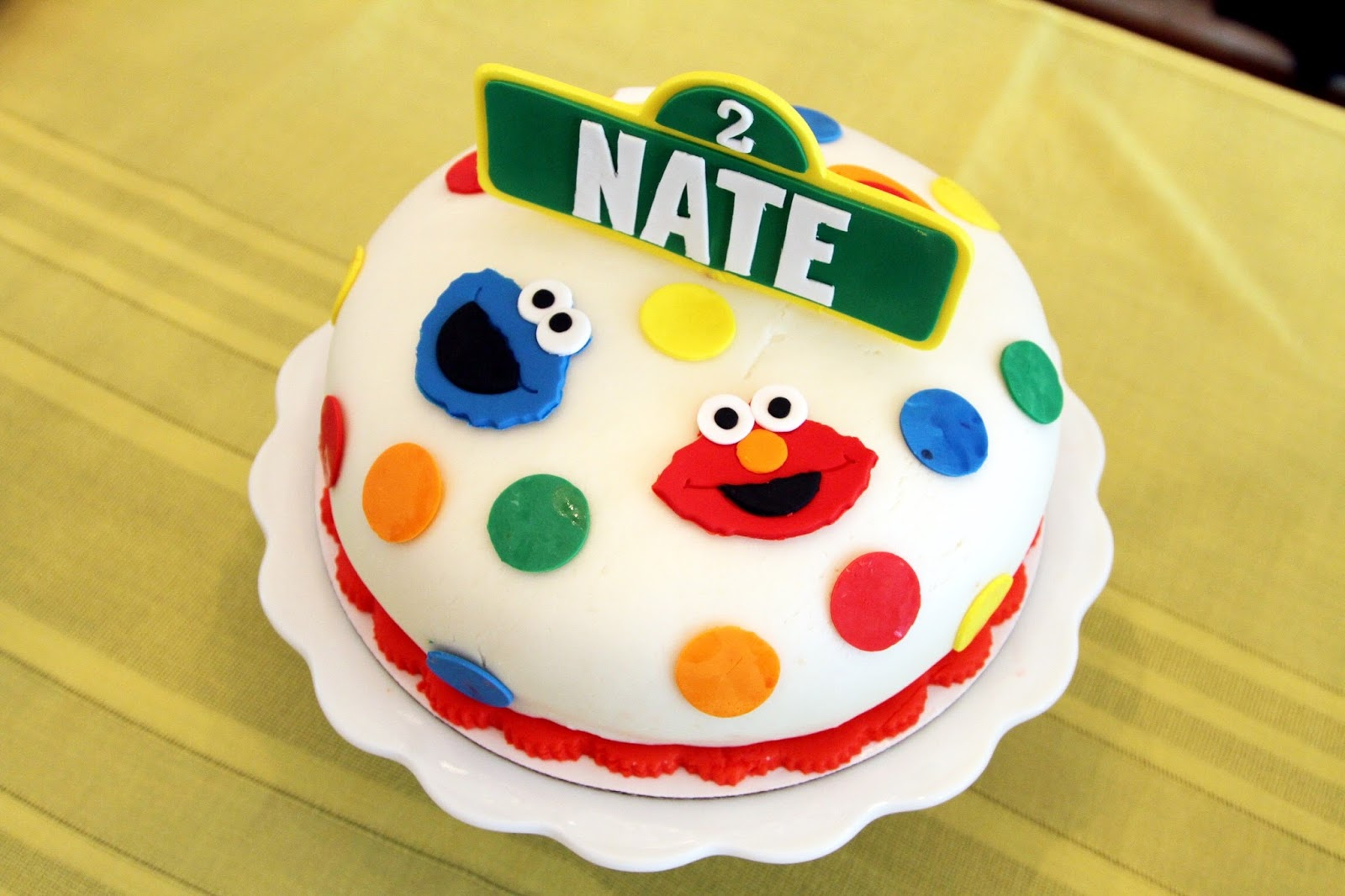 How To Throw A Sesame Street Birthday Party