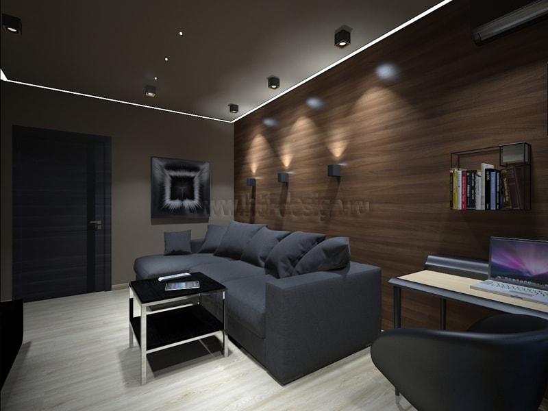 Квартира с мужским характером