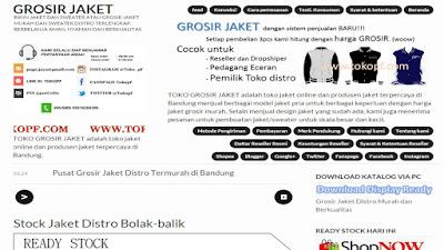 web tokopf grosir jaket