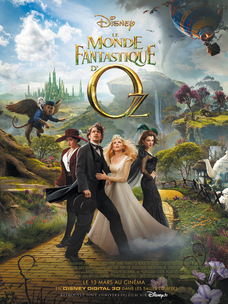 Le Monde fantastique d'Oz | Multi | HDRip | 2013 | FRENCH