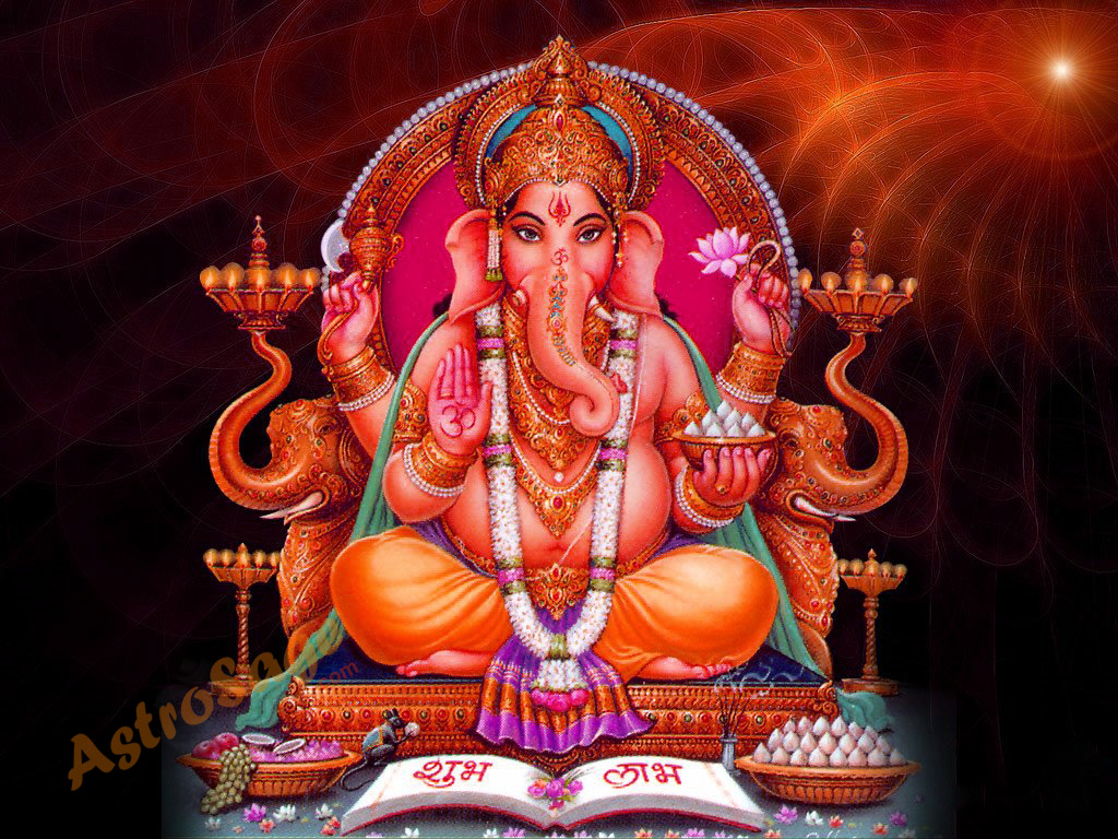 lord ganesha wallpaper computer background - photo #32