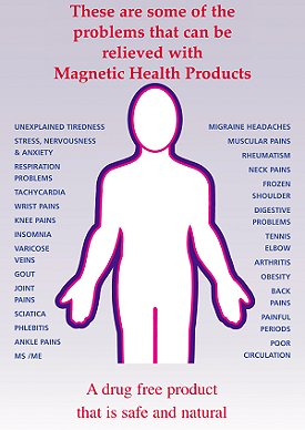 magnetic fields and its effect as a therapy Studies have shown that devices such as magnetic bracelets have no more benefit than devices without magnets, in essence demonstrating the placebo effect magnets have on their users.
