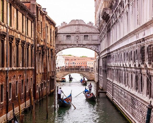 El puente de los suspiros – Italia