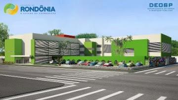 Projeto do novo prédio da Escola Murilo Braga