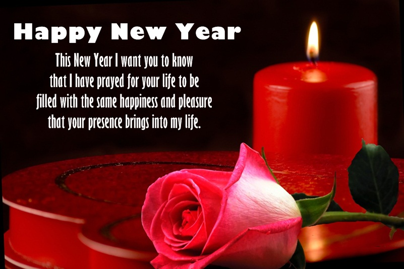 New Year Image for Lovers