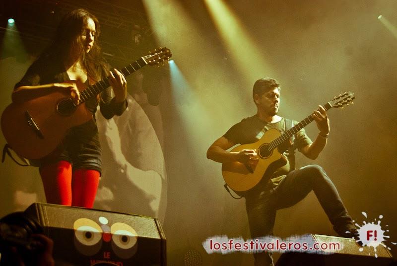 Rodrigo y Gabriela en el Festival Weekend des Curiosités 2014 en Toulouse