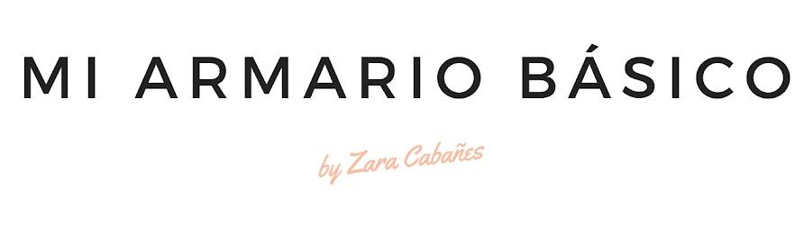 MI ARMARIO BÁSICO BLOG | Zara Cabañes