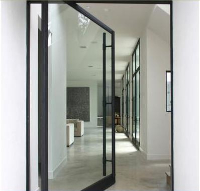 Fotos y dise os de puertas puerta interior for Puertas metalicas para interiores