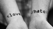 Love Or Hate love hate tatto