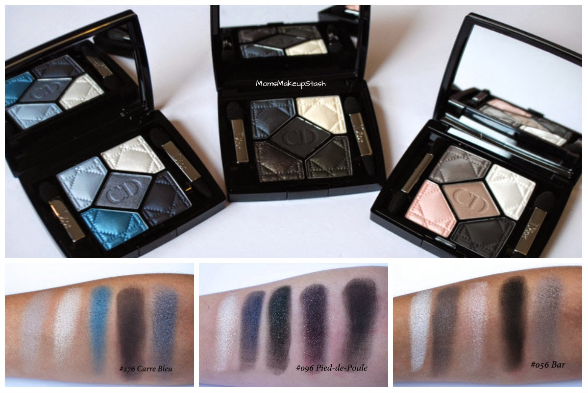 Dior Fall, Dior Fall 2014, Dior Fall Collection, Dior 5-Couleurs Palette, Dior Eye Shadow Review, Dior Fall Swatches, Dior Pied-de-Poule, Dior Bar, Dior Carre Bleu