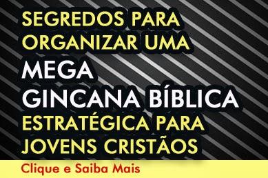 Segredos para organizar uma Mega Gincana Bíblica Estratégica para Jovens Cristãos