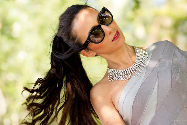 Gafas de sol cateye Prada 17OS