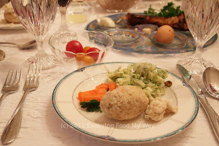 First Course of Seder Meal