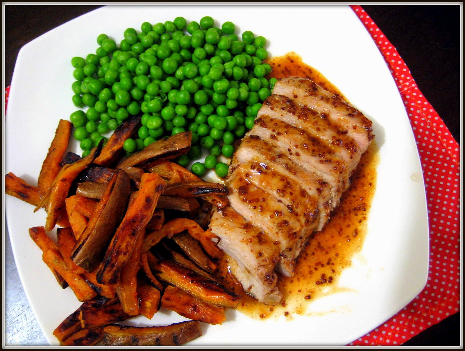 Food Tastes Yummy: ROASTED SWEET AND TANGY PORK TENDERLOIN