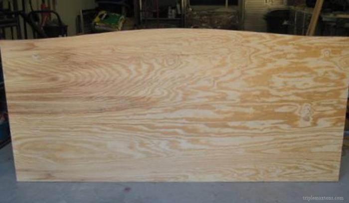 Diy Upholstered Headboard Tutorial Reveal Bed Mattress Sale