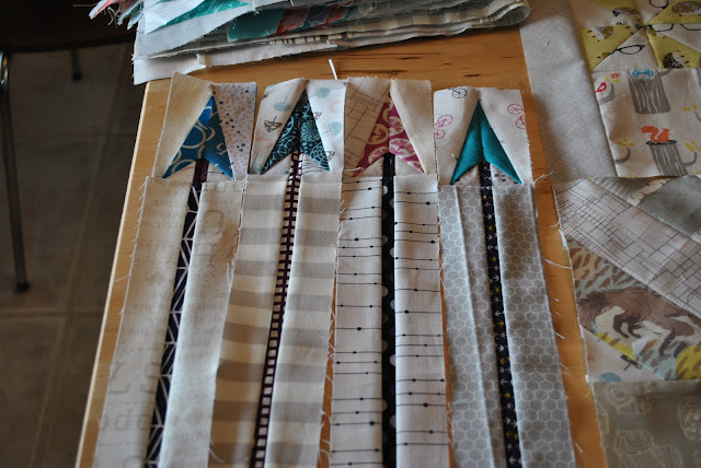sew what sherlock paper pieced arrows close